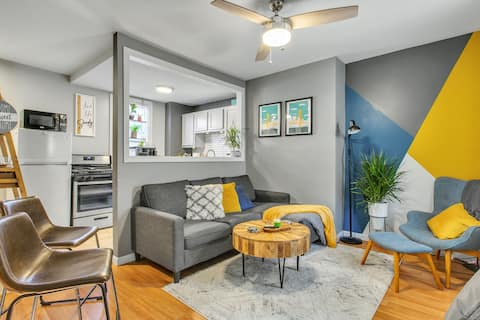 Cozy Lawrenceville Row House