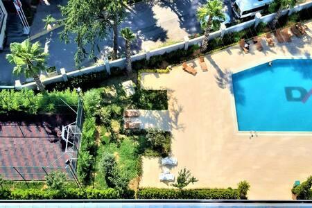 Scenic & Luxury Studio Swimming Pool Free Fb WIFI