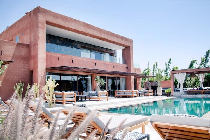 Palais SOHAN : Villa de luxe a marrakech