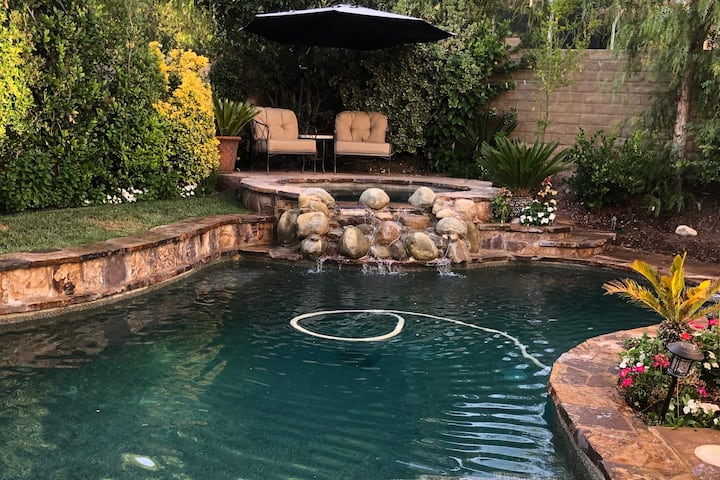 Santa Clarita Private Pool Home