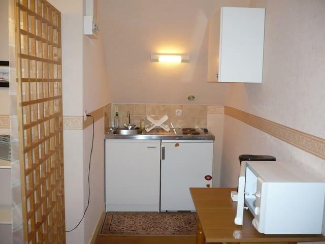 Studio meublé, équipé : tout près du centre ville - Plabennec - Apartment