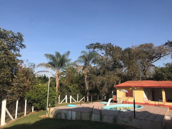 Chacara em área rural de Pouso Alegre 8 pessoas