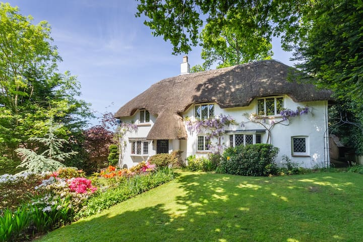 Idyllic New Forest 6 Bedroom Thatched Cottage