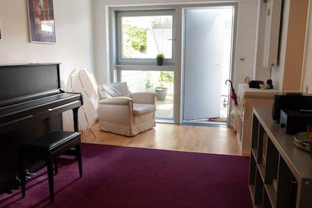 50平小屋/绿色环绕/钢琴