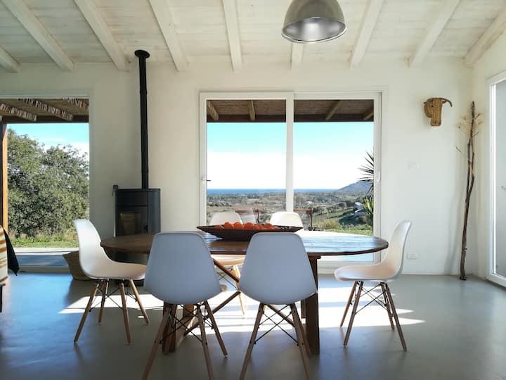 Charming villa with sea view!@CasedellaQuercia