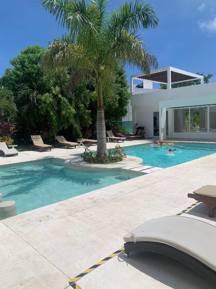 Hermosa y cómoda Casa en Puerto Morelos
