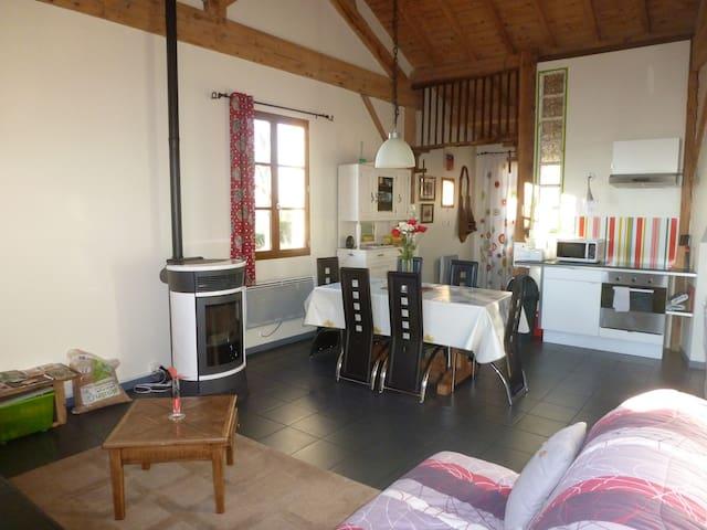 la maison d'être - Saint-Just-en-Chevalet - Lodge immerso nella natura