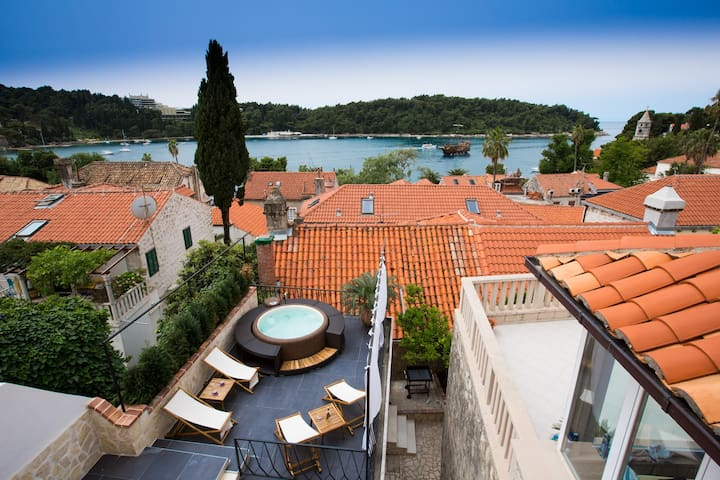 Villa Lizza-Cavtat old town,sea view - Cavtat - House