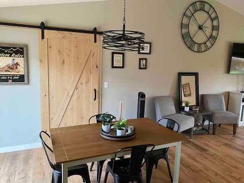 Perfect in-town home with a feel of the farmlands.