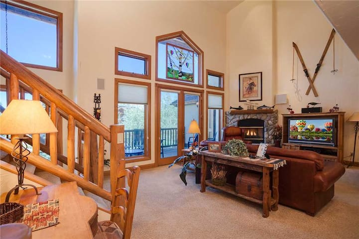 Entry to Private Deck from Living Room