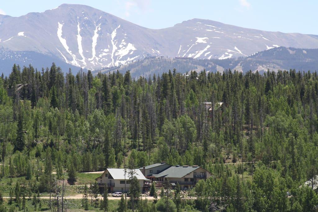 Hideaway Mountain Backdrop!