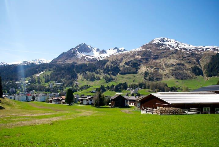 Wohnung direkt an Langlauf-Loipe - Davos - อพาร์ทเมนท์