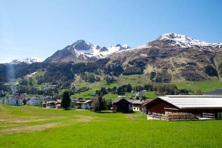 Wohnung direkt an Langlauf-Loipe - Davos - Appartement