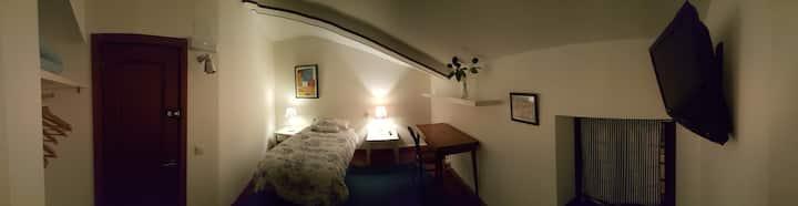 Habitación con baño numero 1