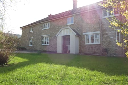 Beautiful 450 yr old farmhouse - 陶頓(Taunton) - 獨棟