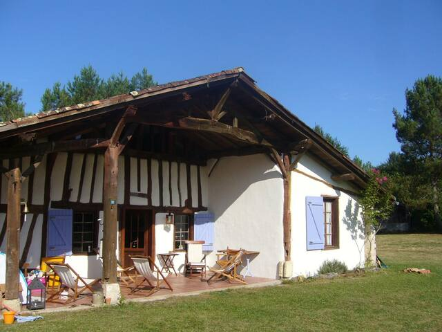 Location/Rental Ferme Landaise - Luxey - Villa