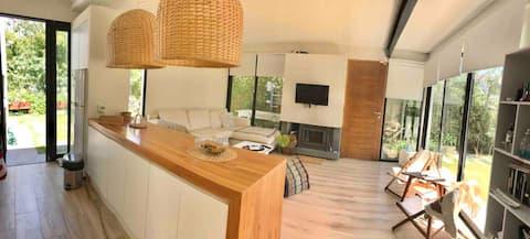 Modern house! 200 m from La Posta Beach