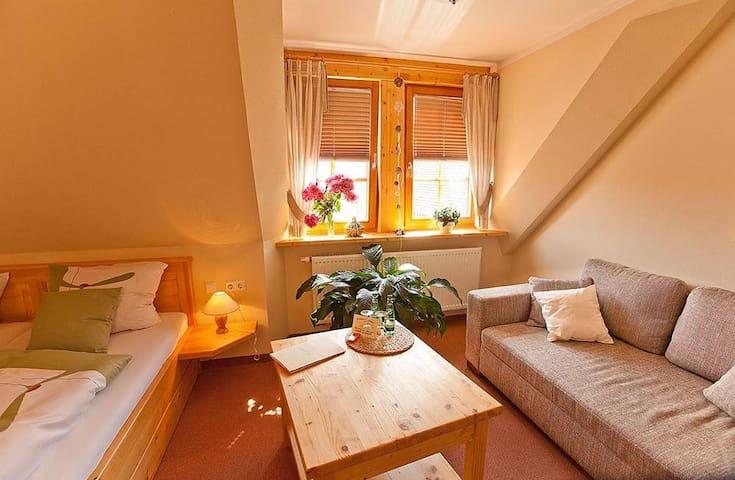 Naturhotel Etzdorfer Hof (Etzdorf/Heideland) - LOH06246, Doppelzimmer mit Dusche und WC