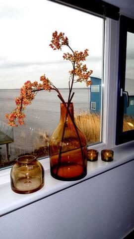 6pers Casa con vista directa al lago Lauwersmeer - Anjum - Casa