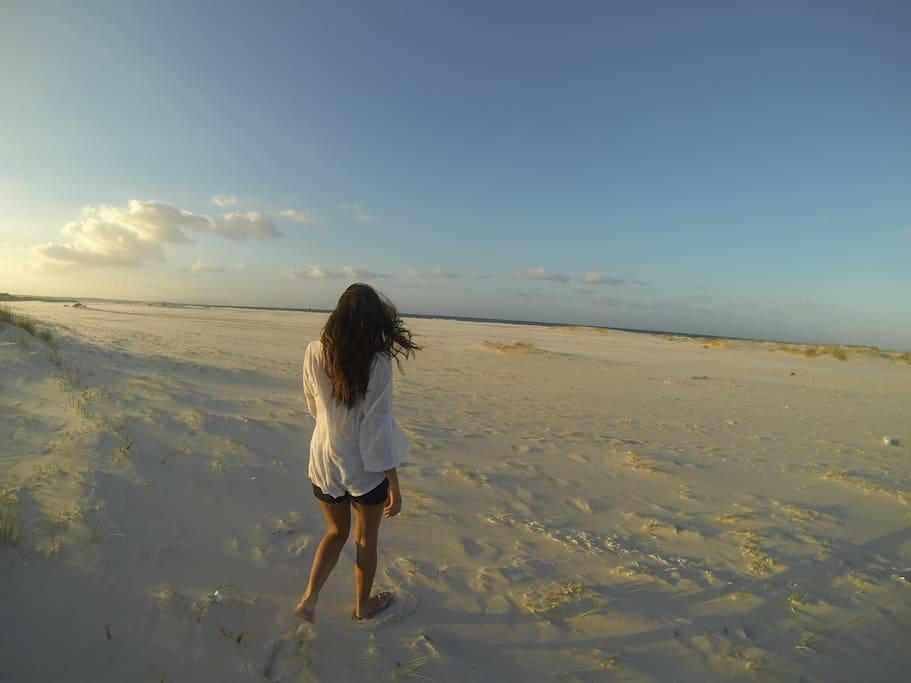 La plage de Menzel Temim