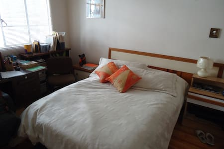 Cuarto, cama matrimonial, iluminado - Mexico City - Bed & Breakfast