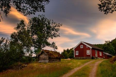 Historical lakeside cabin in Kleppe - Kabin