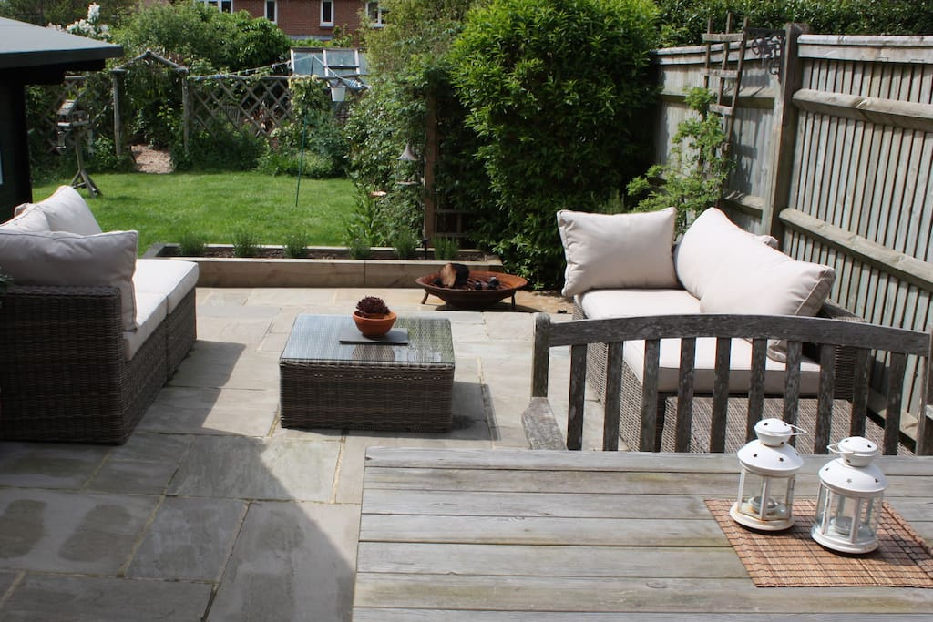 Sunny terrace - perfect for relaxing