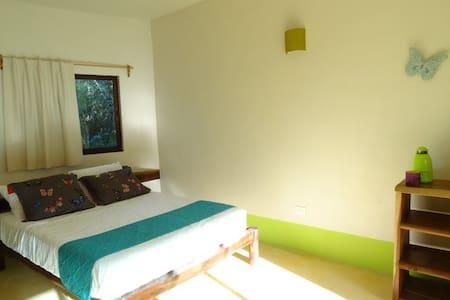 Pool + Cenote: Room Verde - Chemuyil - Casa de campo
