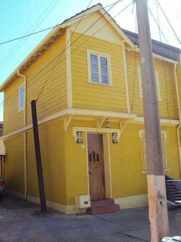 casa Valparaíso ,Cerro Barón