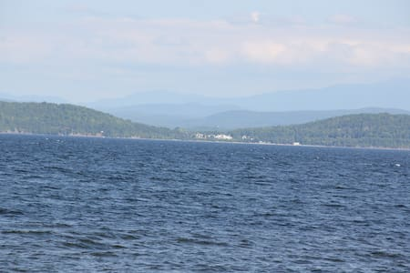 Colchester - Mallets Bay on Lake Champlain !