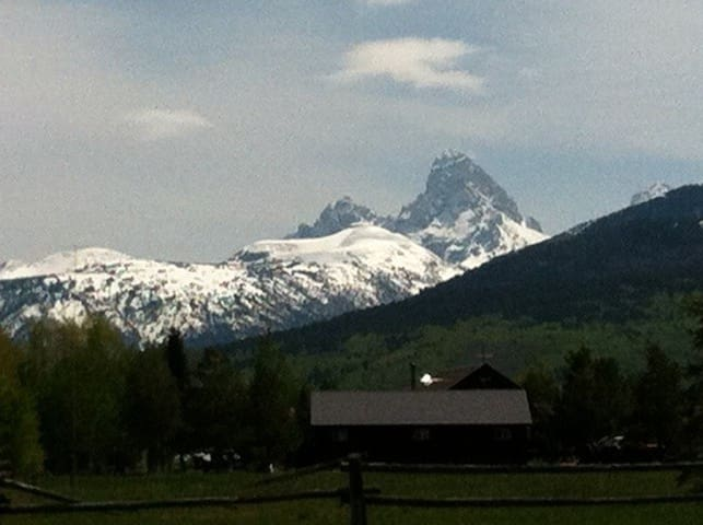 owl barn teton valley idaho access ynp gtnp
