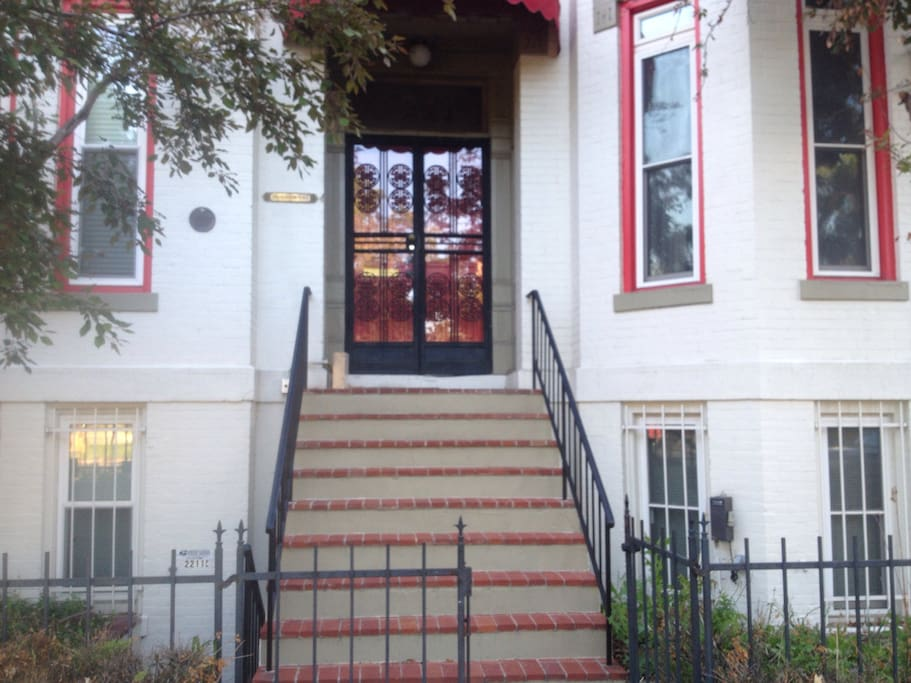 Classic Rowhouse (Upstairs tenant entrance)