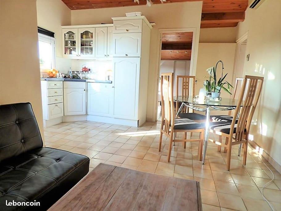 Chambre priv e dans villa a 300 m tres des plages villas - Chambre des metier saint laurent du var ...