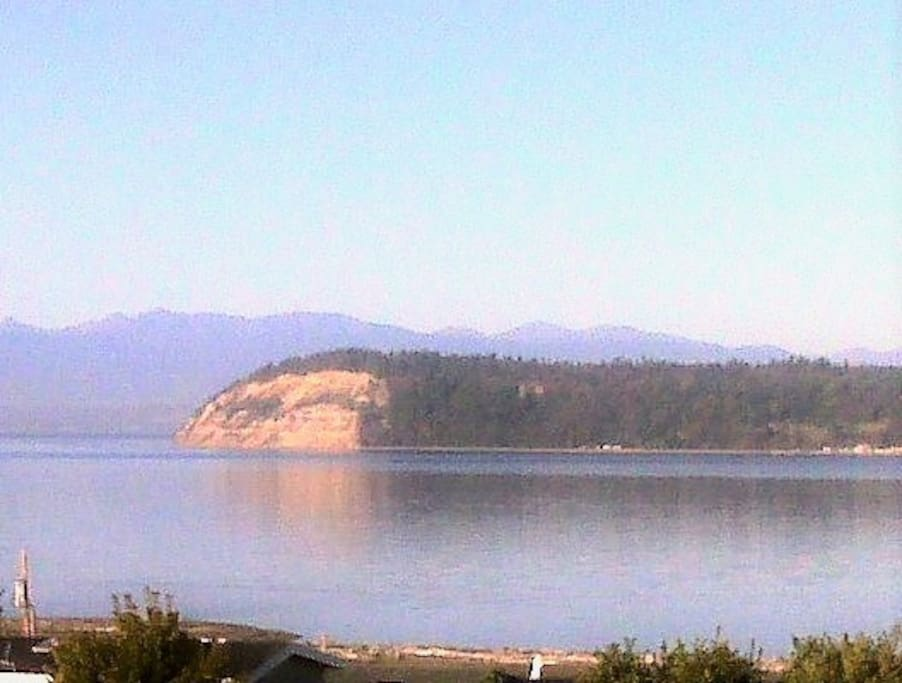 Whidbey Island's Double Bluff on Puget Sound with expansive views of ocean, mountains, beaches and pastures
