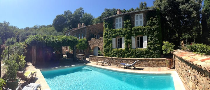 Villa with 5 bedrooms in La Garde-Freinet, with private pool, enclosed garden and WiFi - 20 km from the beach