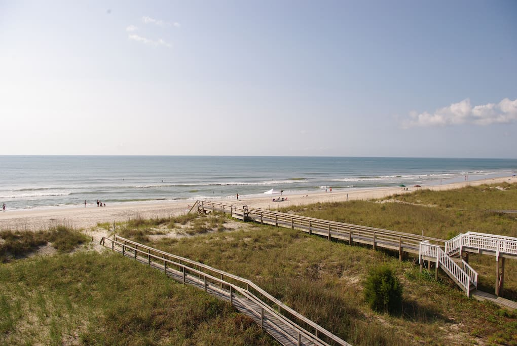 Soak up the 270 degree view from the oceanfront balcony