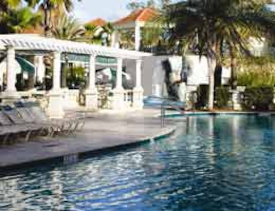 2 outdoor Swimming Pools