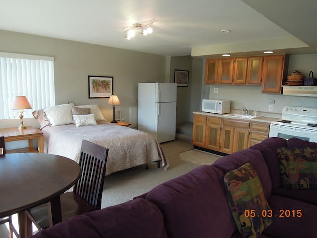 Bright & Spacious Mother-In-Law Apt - Edmonds - Apartment