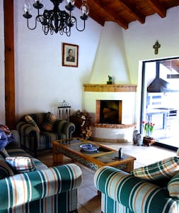 """Just 40 mins from Morelia on the road to Mil Cumbres you will find """"Puente de Piedra"""". A peaceful 100 acres ranch with breathtaking mountain views. Perfect place for escape from the routine, and you need to relax or escape from the city."""