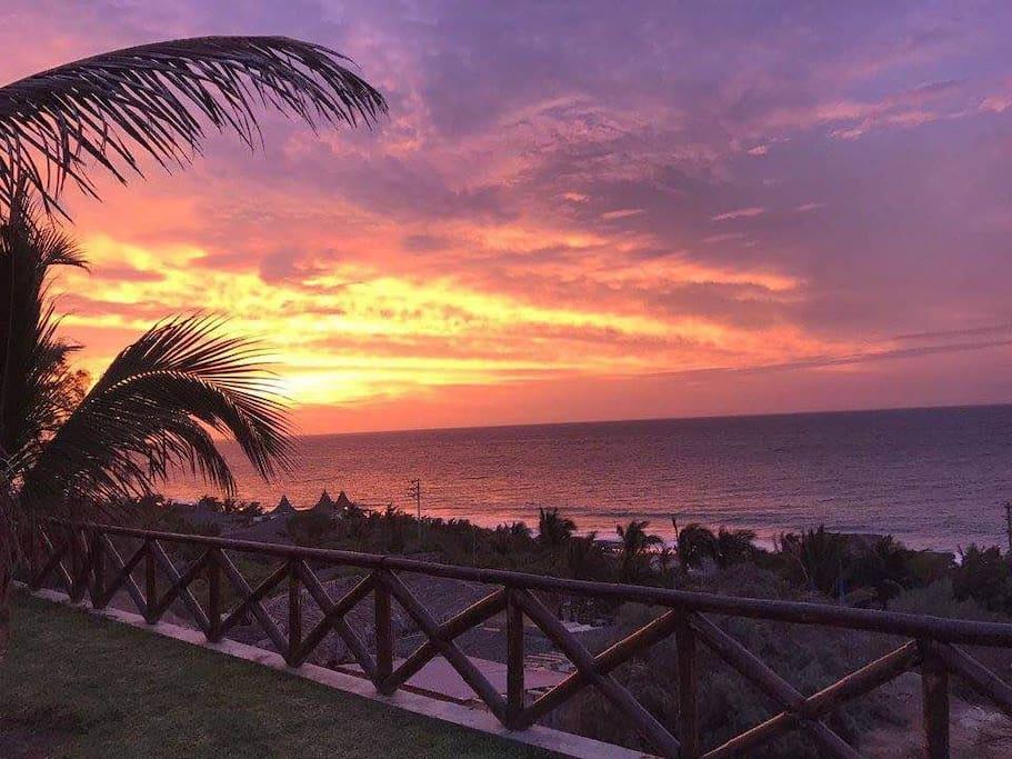 Sunset espectacular
