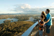Fantastic views from Black Mountains Telstra Tower