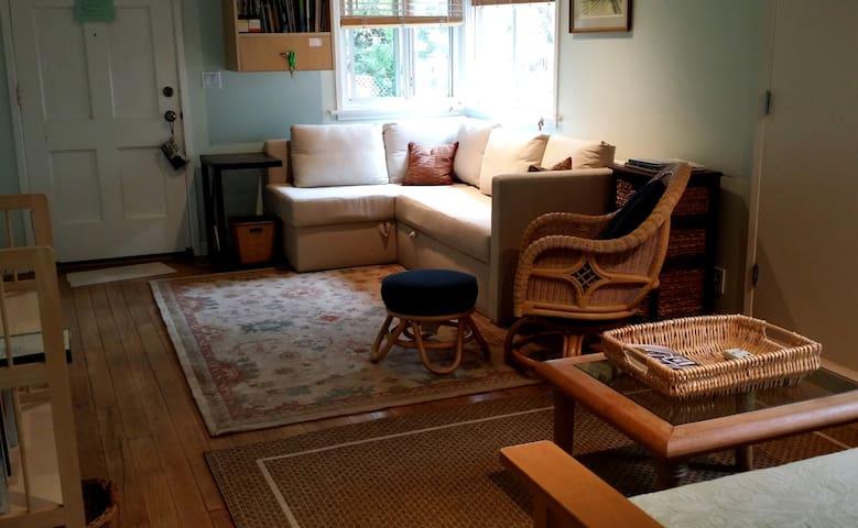 Ktea's Guest cottage.
