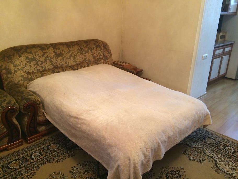 Гостиная (Спальня 2) - Диван кровать