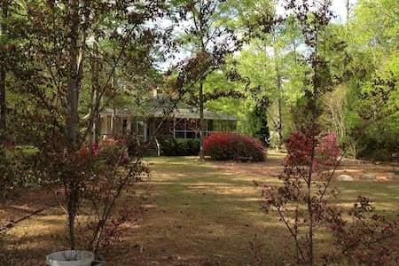 Lakehouse at Smith's Landing - Milledgeville - Talo
