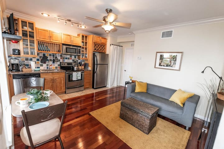 CUTE & COZY flat in the heart of Downtown!