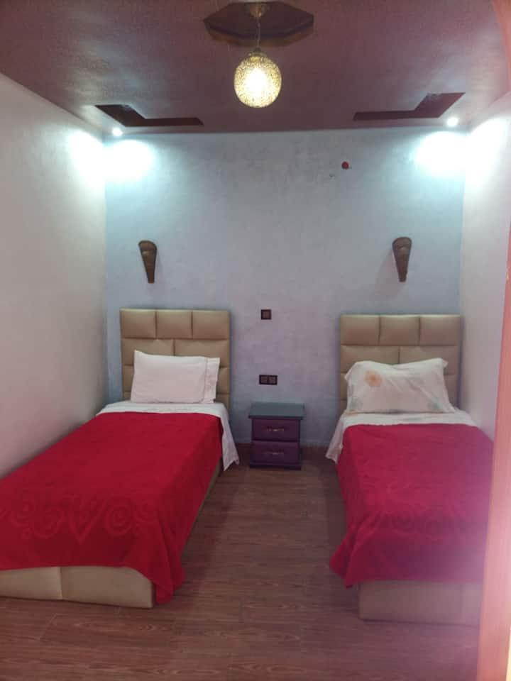 Comfortable Calm Room Next To The Beach in Oudaya