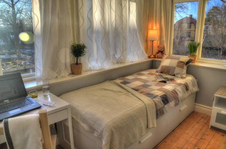 Nice and bright room. Close to the city. - Στοκχόλμη - Σπίτι