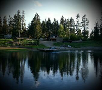 Argh Lake. Go fishin' for your diner! - Lumby - Bed & Breakfast