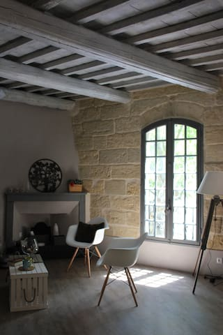 Sumptuous loft in the heart of Uzès - Uzès - Apartamento