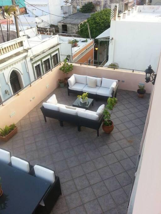 Terrace/Terraza.
